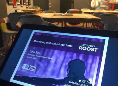Staff training: Student Roost