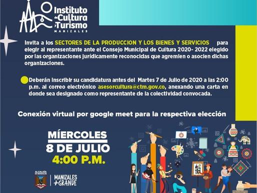ABIERTA CONVOCATORIA DE REPRESENTANTES DE ORGANIZACIONES ANTE EL CONSEJO MUNICIPAL DE CULTURA