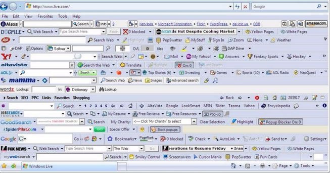 Toolbars - What you really need to know before adding them