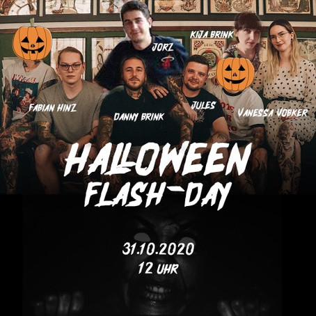 31.10.2020 - Halloween Flash Day