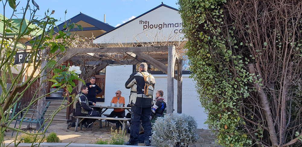 Lunch stop at The Ploughman Cafe, Taralga