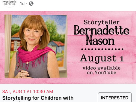 Storytelling for Children-Bernadette Nason