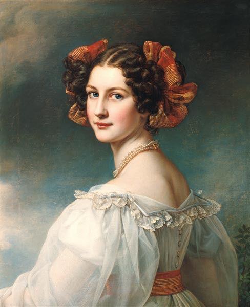 Brunette European women in history