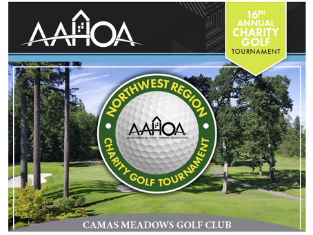 We're excited to attend the 16th Annual AAHOA Golf Charity event this year!
