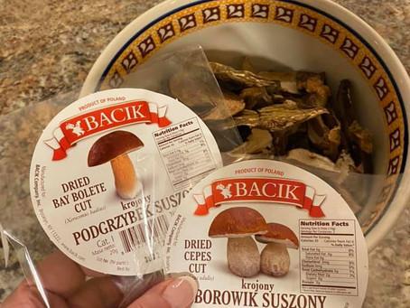 Mushroom and Wild Rice Gołabki