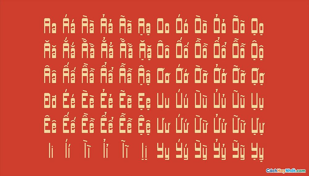 Free Font Typeface Biasachxua