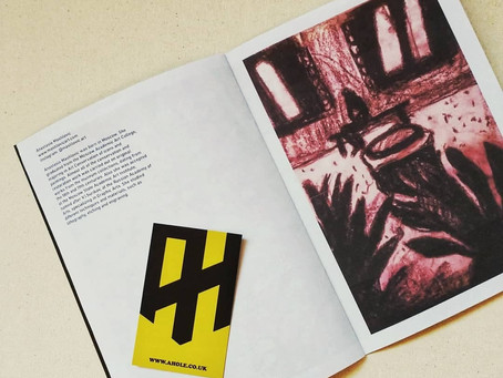 First Publication in Magazine ART HOLE: 4