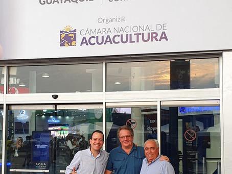 El equipo Acuamaya presente en la AQUA EXPO 2019