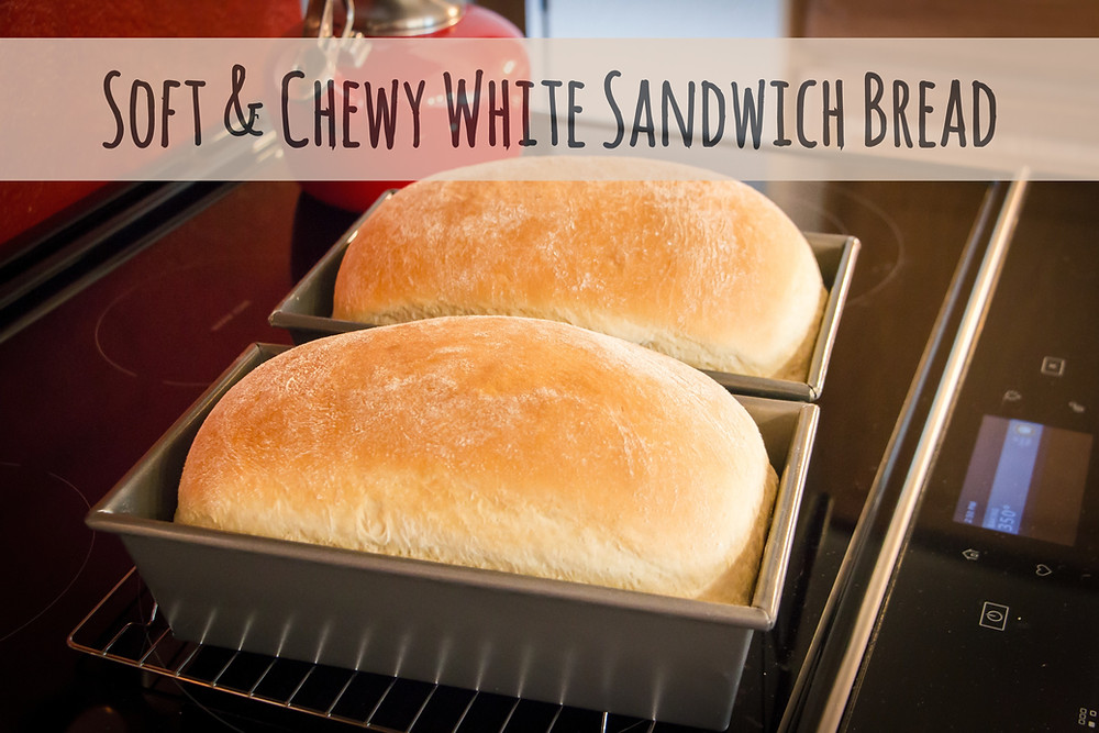 Classic White Bread Recipe. Sandwich bread, homemade bread, white bread.