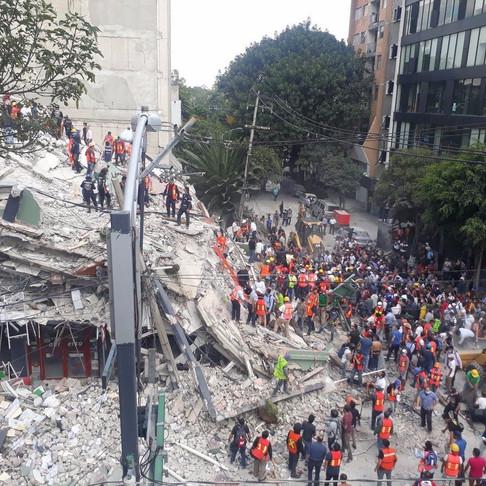 Solidaridad y apoyo en las zonas afectadas de México tras sismo.