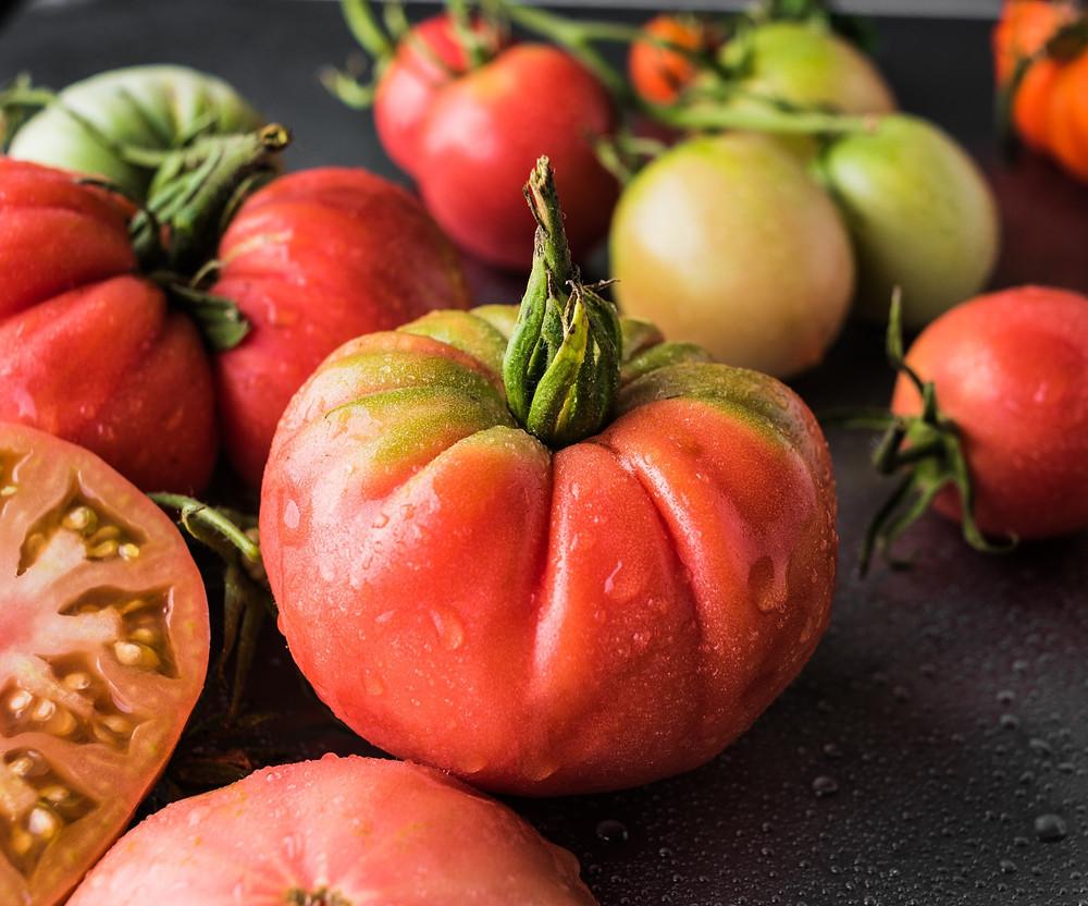 pomidorai, kečups, pomidorų padažas