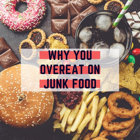 3 Tips to Stop Overeating on Junk Food