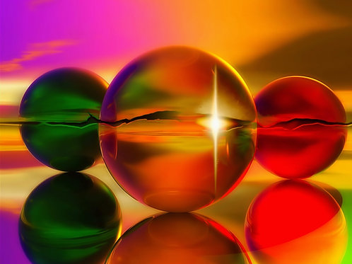 Spheres Fine Art Print