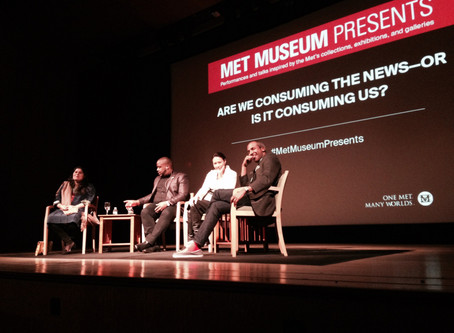 Are We Consuming the News—or Is It Consuming Us? - journalists in conversation at the Met