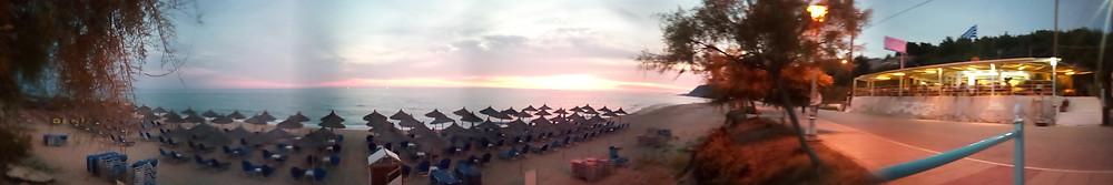 εστιατόριο Λούτσα και παραλία Λούτσας