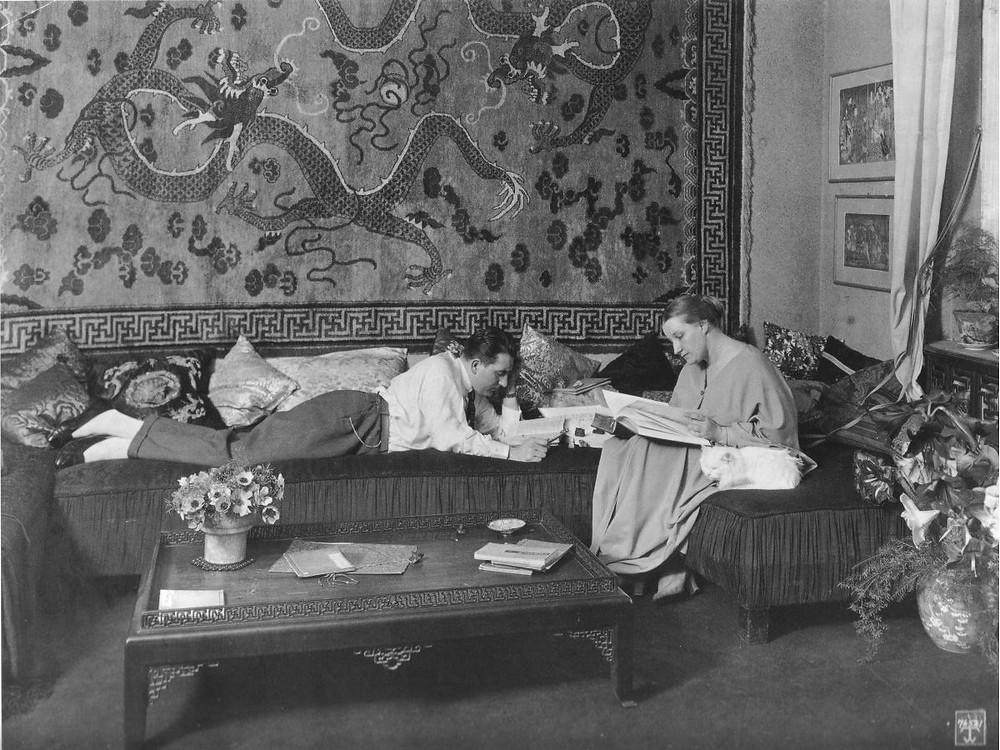 Fritz Lang und Thea von Harbou, 1923