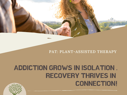The 'opposite of addiction' theory: How community can drive recovery