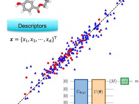 化学データに対する量子機械学習モデルを開発しました