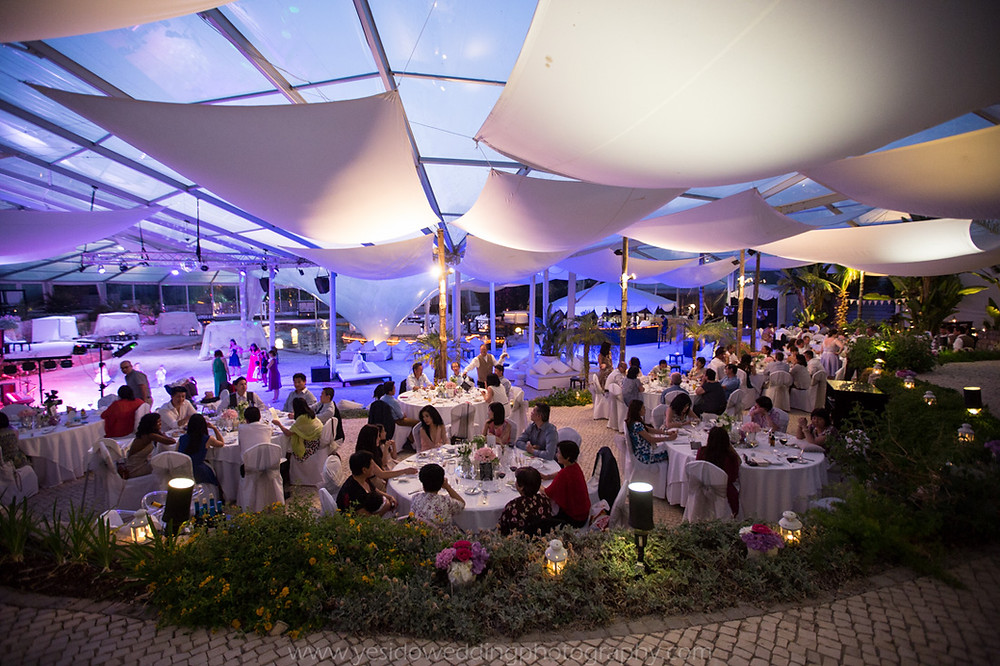 Wedding event services in Faro, Vilamoura proving stage, sound & lighting