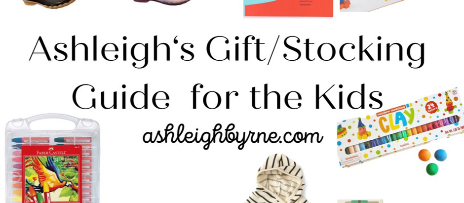 Kids Gift Guide + Stocking Stuffers