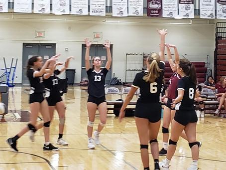 Oak Ridge Volleyball tops Hardin Valley