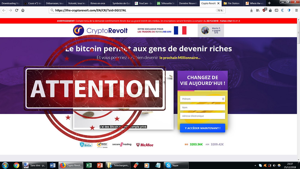 CryptoRevolt AVIS.