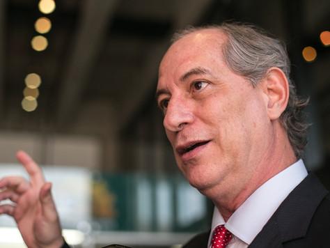 'Quero ser presidente do Brasil, não guru de costumes', diz Ciro Gomes sobre a esquerda carioca