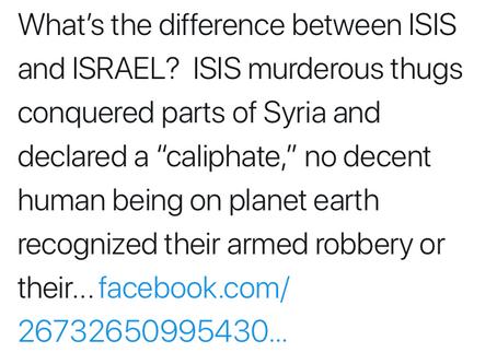 Professor Hamid Dabashi Struggles to Distinguish Israel from ISIS