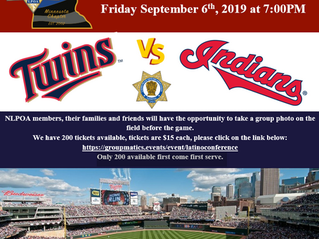 Twins VS Indians NLPOA Game Night