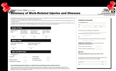 OSHA Posting Deadline Reminder!