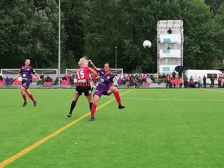 Ligaledarna sänktes. Bra match borta i Rönnbacka