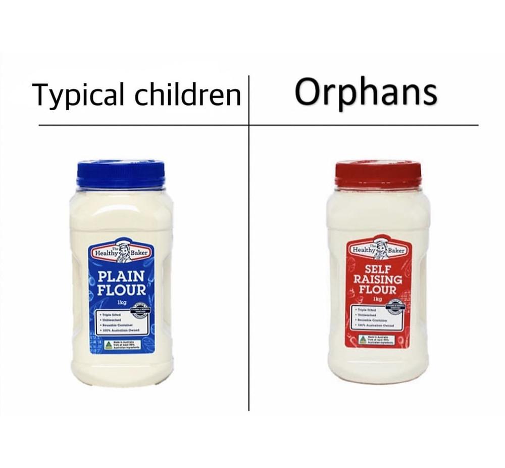 Typical Children Orphans Flour Meme