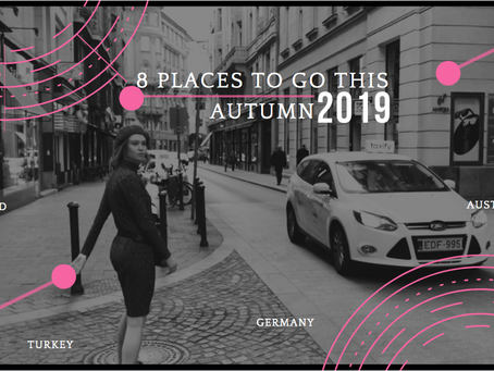 8  places to go this autumn (2019)