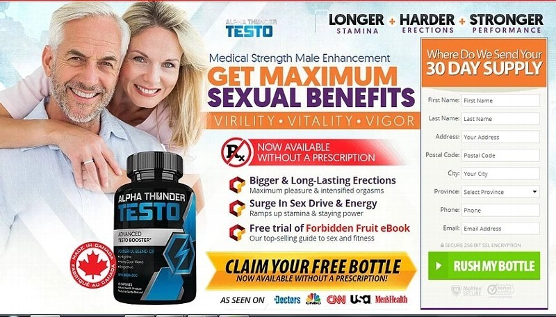 Alpha Thunder Testo Canada Testosterone Booster Reviews |  wow-white-owl-wings
