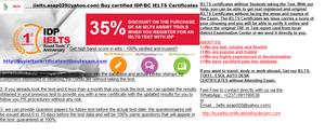 ielts asap020@yahoo com) Buy IELTS certificate without Exam
