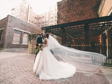 Ali + Jeff's Elegant Cincinnati Themed Wedding!