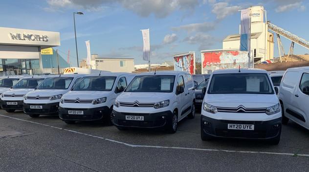 Deux entreprises de Southampton choisissent le Citroën Berlingo Van pour leurs flottes