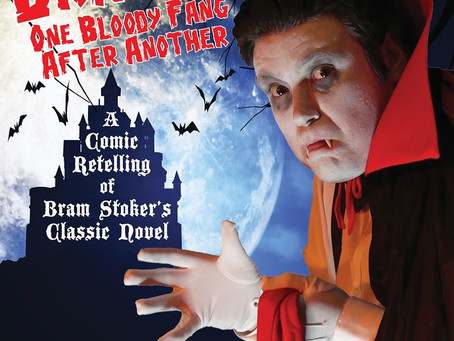 Dracula. One Bloody Fang After Another. Hambledon Productions, Cleethorpes Library 9 October 2019