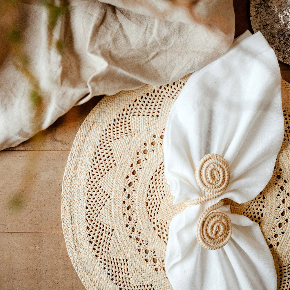 Narino Open Weave Rustic Placemat