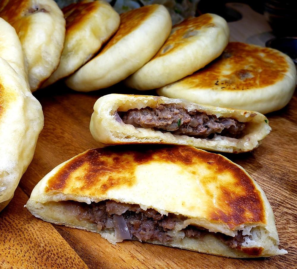 Beef Pancakes