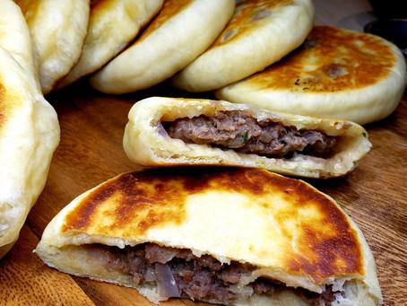 Deana's Beef Stuffed Pancakes