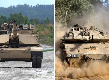 Merkava Mk.IV vs. M1A2 Abrams มันเหมือนหรือแตกต่างกันอย่างไร ?
