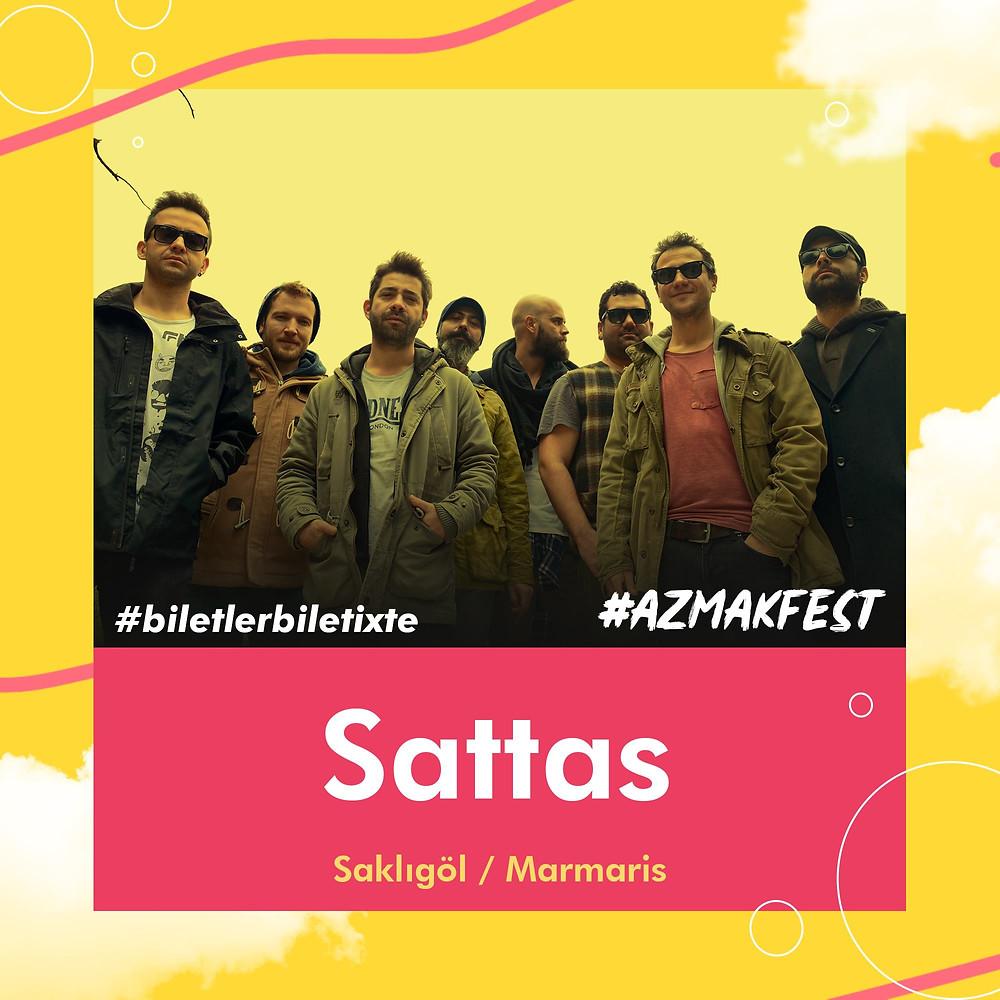 Türkiye'nin ilk reggae grubu @sattasreggaeband, 1 Eylül'de #AzmakFest'te