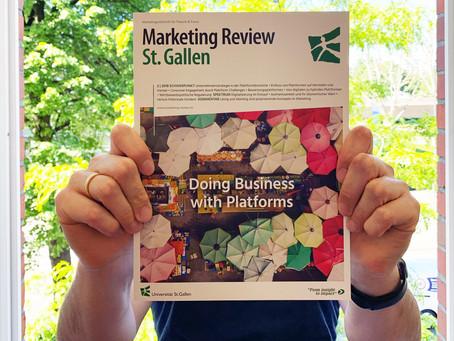 Marketing Review St. Gallen publiziert empirischen Beitrag mit dem Praxisbeispiel Welect.