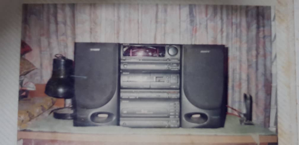Our First Ever Sound System. A Sony Stereo.