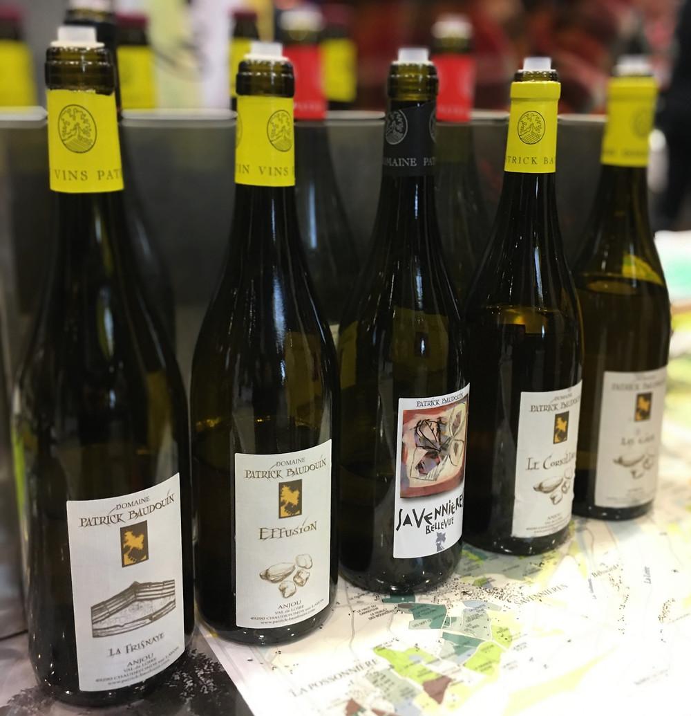 Les vins blancs d'Anjou de Patrick Baudouin