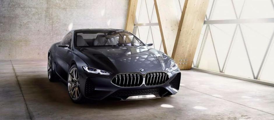 BMW Serie 8 Concept: Lineas que remarcaran un legado.