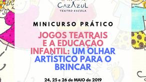 Jogos Teatrais e a Educação Infantil - Um olhar artístico para o brincar