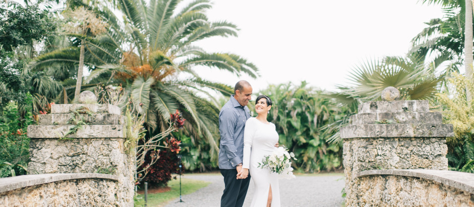Barbara & Carlos | Secret Gardens Miami Wedding