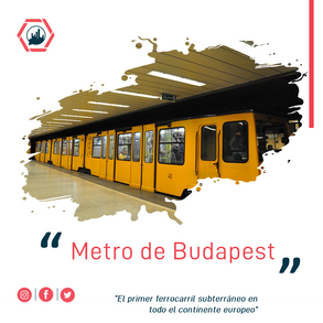 #tbting. 2 Mayo 1896. Abre la Línea 1 del metro de Budapest.